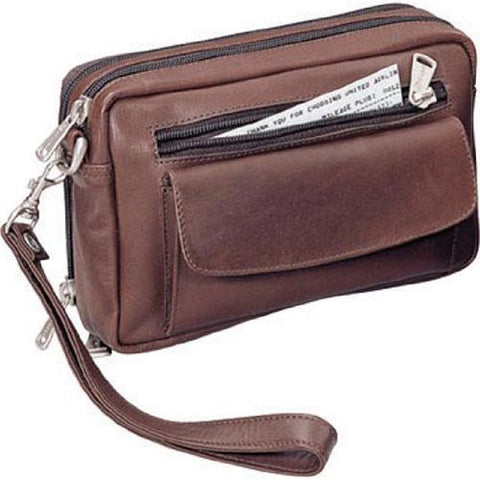 Winn Harness Leather Travel Bag Brown