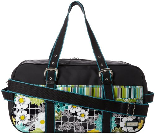 Hadaki Nylon Get Away Duffle Bag,O'Floral,One Size