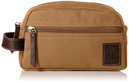Timberland Men's Toiletry Bag Canvas Travel Kit Organizer