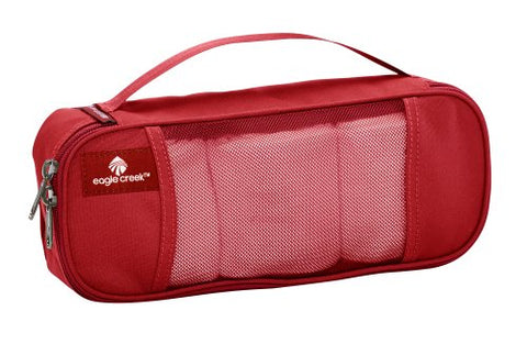 Eagle Creek Travel Gear Luggage Pack-it Half Tube Cube, Red Fire