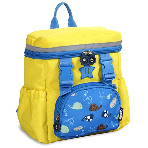 J World New York Kinder Kids' Backpack,Yellow