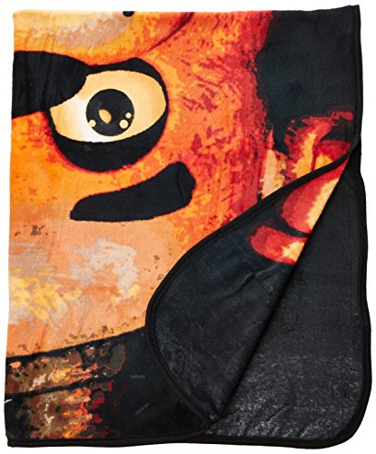"BIOWORLD Five Nights at Freddy's 48"" x 60"" Plush Throw Blanket"