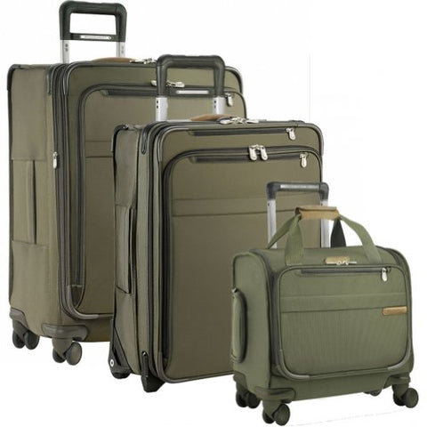 Briggs & Riley Baseline Global Getaways (One Size, Olive)