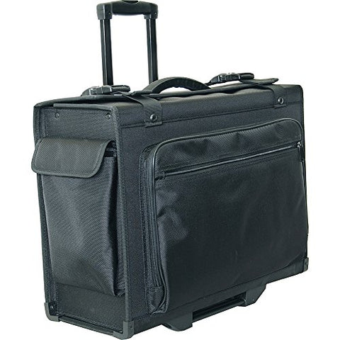 "Netpack 20"" Hard Side Rolling Computer Catalog Case (Black)"