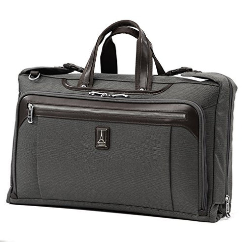 "Travelpro Luggage Platinum Elite 20"" Carry-On Tri-Fold Garment Bag, Vintage Grey"