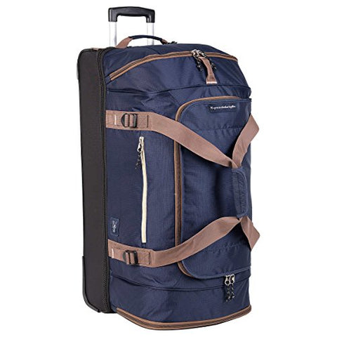 "Skyway Globe Trekker Two Compartment 30"" Rolling Duffel Blue"