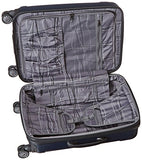 "Kenneth Cole Reaction Renegade 24"" Hardside Expandable 8-Wheel Spinner Checked Luggage, Navy"