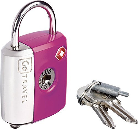 Design Go Dual Combi Key Lock, Purple