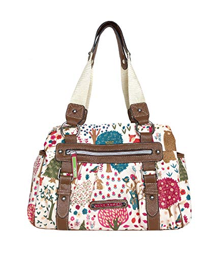 Lily Bloom Landon Triple Section Satchel, Everyday is an Adventure