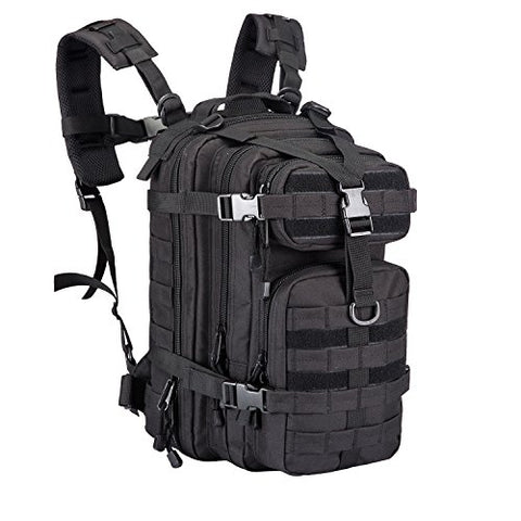 30L Outdoor Small Assault Tactical Backpack Military Sport Camping Hiking Trekking Bag 08009