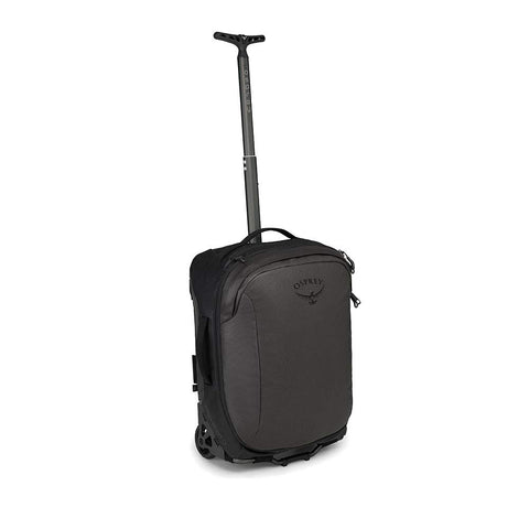 Osprey Packs Transporter Wheeled Global Carry On Luggage, Black