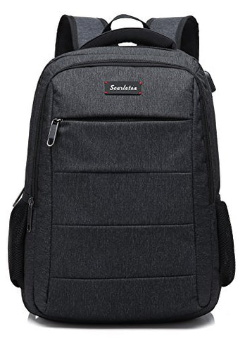 Scarleton Simple School Backpack H203501 - Black