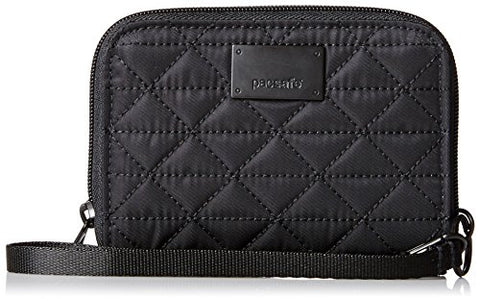 Pacsafe Rfidsafe W100 Anti-Theft Rfid Blocking Wallet, Black