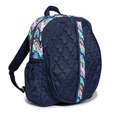 Cinda B. Tennis Backpack, Midnight Calypso