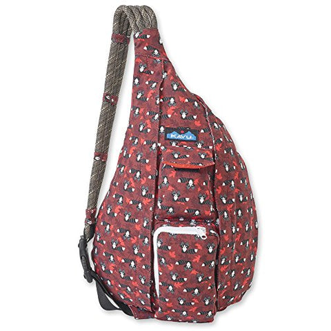 KAVU Women's Rope Bag Backpack, Raccoon, One Size
