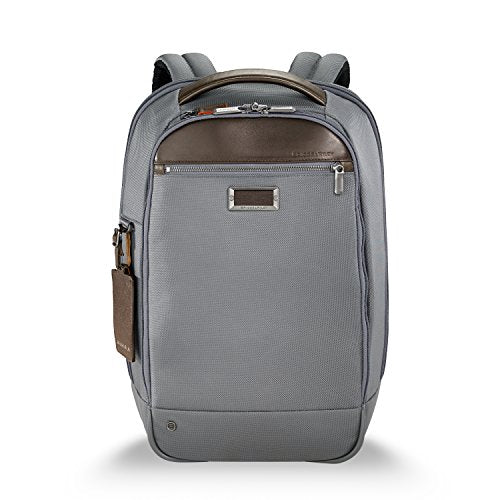 Briggs & Riley @Work Medium Slim Backpack, Gray