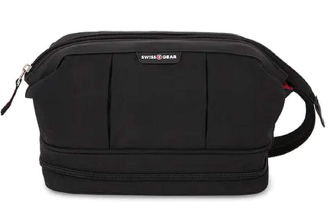 SWISSGEAR 2612 DOPP/TOILETRY KIT - BLACK COD