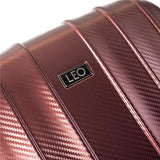 "Leo by Heys - Legend Hard Side Spinner Luggage Sets 3pc Set - 31"", 27"" & 21.5"" (Red)"