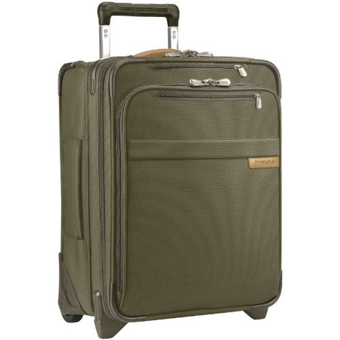 "Briggs & Riley Baseline Commuter Expandable 19"" Upright, Olive, Medium"