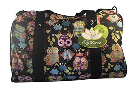 Lily bloom/Lily Zen Recycled Duffel Bag - What A Hoot