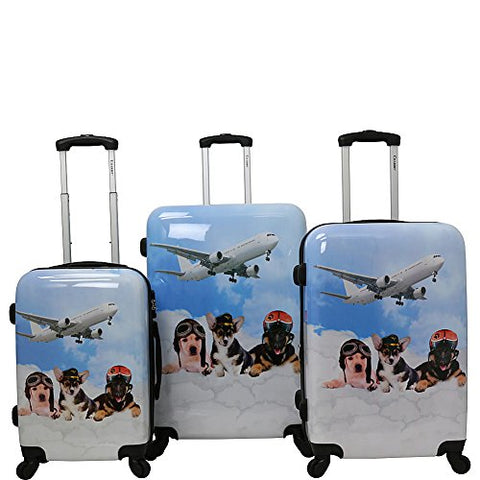Chariot Pilots 3-Piece Luggage Set