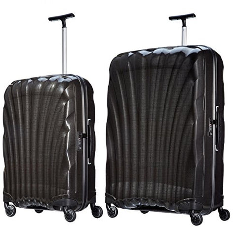 "Samsonite Luggage Black Label Cosmolite 2 Piece Spinner Luggage Set, 32"" and 27"" (One size, Black)"