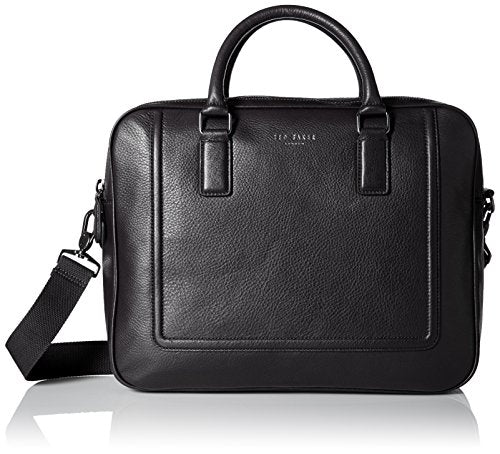 Ted Baker Men's  Ragna Leather bowler bag, Black