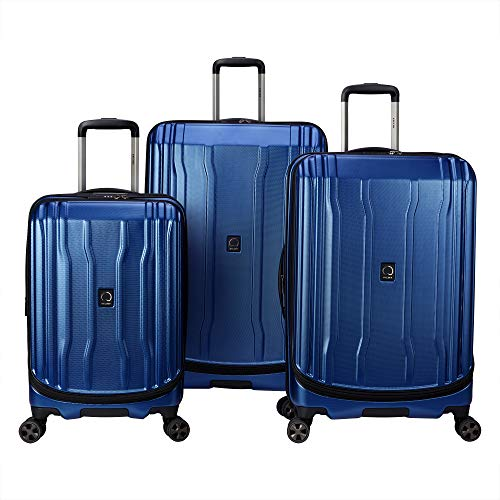 DELSEY Paris Luggage Cruise Lite Hardside 2.0 3-Piece Set, Blue
