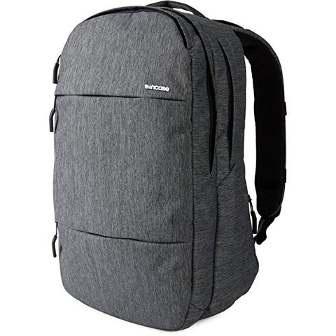 Incase City Collection Backpack Heather Black/Gunmetal Gray One Size