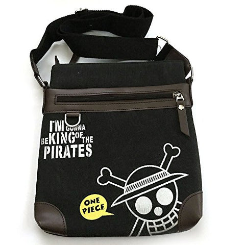 "Anime One Piece ""I'm Gonna Be King of the Pirates"" Monkey D. Luffy Messenger Bag"