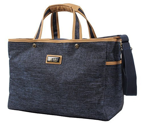 Nicole Miller Paige Collection Carry On Tote Bag (Paige Navy)