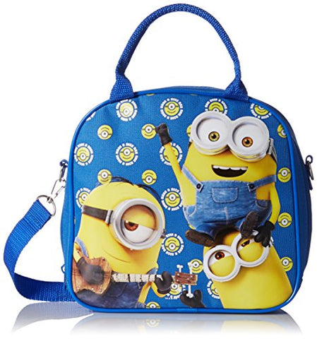 Despicable Me Minions Authentic Licensed Multipurpose School Bag (Black)