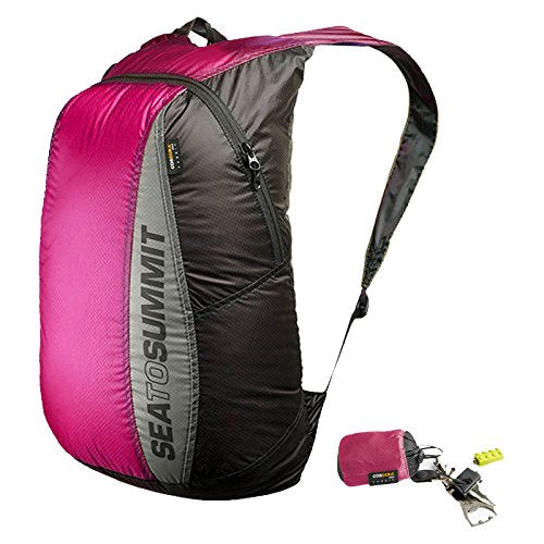 Sea To Summit Travelling Light Ultra-Sil Travel Day Pack - Berry