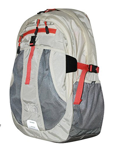 The North Face Women Recon laptop backpack book bag 17X14X4 (VINTAGE WHITE)