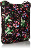 Vera Bradley Iconic Triple Zip Hipster-Signature, Winter Berry