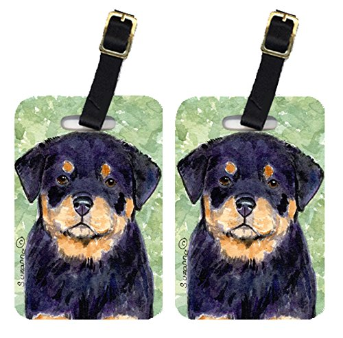 Carolines Treasures SS8929BT Rottweiler Luggage Tag - Pair 2, 4 x 2.75 In.