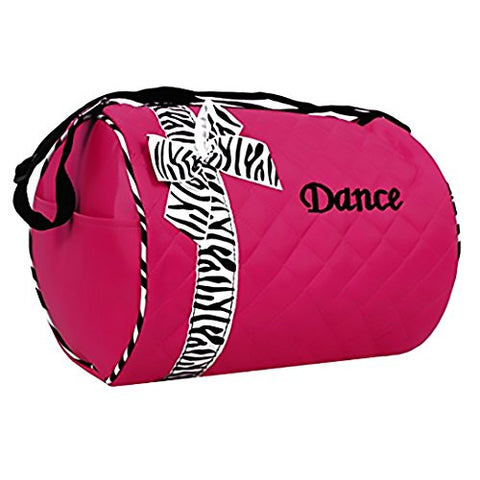 Girls Quilted Dance Duffel Bags