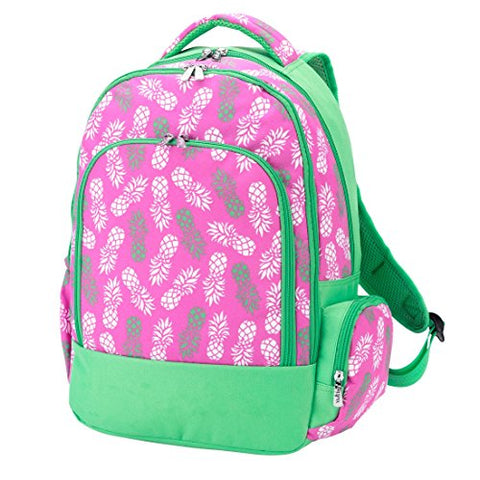 Wholesale Boutique Reinforced Design Water Resistant Backpack (Pineapple)