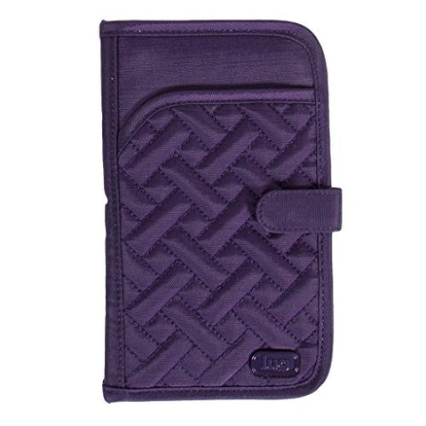 Lug Women'S Tandem Wallet, Brushed Concord