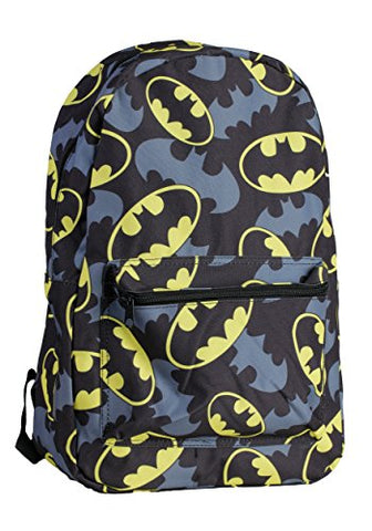 Bioworld Batman Bat Symbol Backpack Standard
