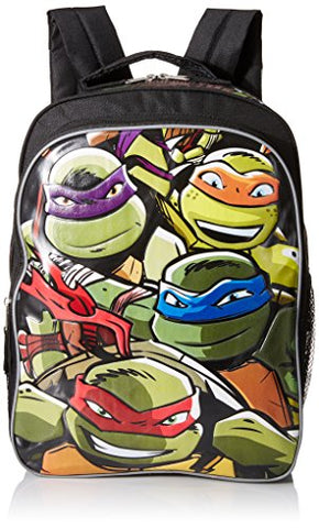 Teenage Mutant Ninja Turtles Boys' 16 Inch Backpack Lean Mean Green, Multi, One Size