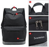 Scarleton Neutral Backpack H20480103 - Black/Grey