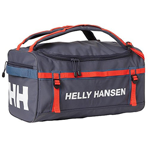 Helly Hansen HH Unisex Classic Durable Waterproof Duffel Bag, Graphite Blue, OS