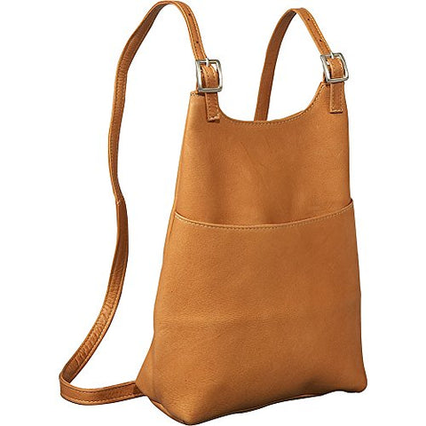 Le Donne Leather Women'S Sling Backpack Purse - Tan