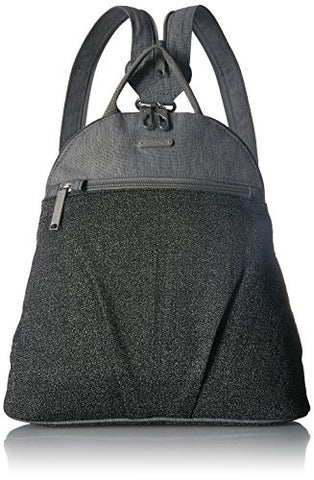 Baggallini Anti-Theft Backpack - Stylish Carry-On Travel Bag With Locking Zippers And