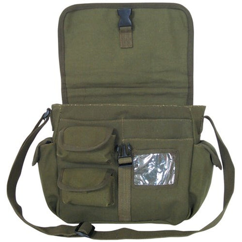 Fox Outdoor Products Messenger Bag, Olive Drab