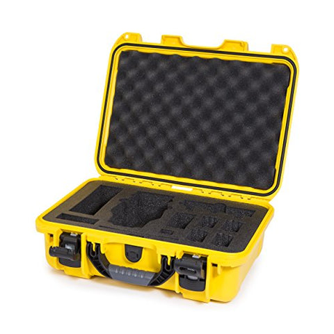 Nanuk Dji Drone Waterproof Hard Case With Custom Foam Insert For Dji Mavic - 920-Mav4 Yellow