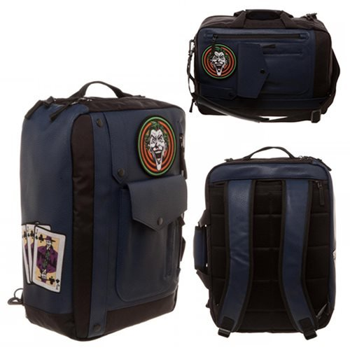 Batman Joker Goon Convertible Bag Backpack