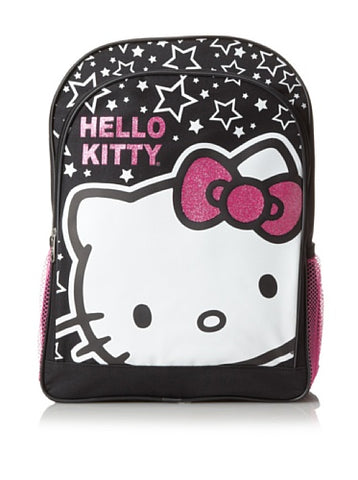 Sanrio Hello Kitty Stars And Hk Big Face Backpack