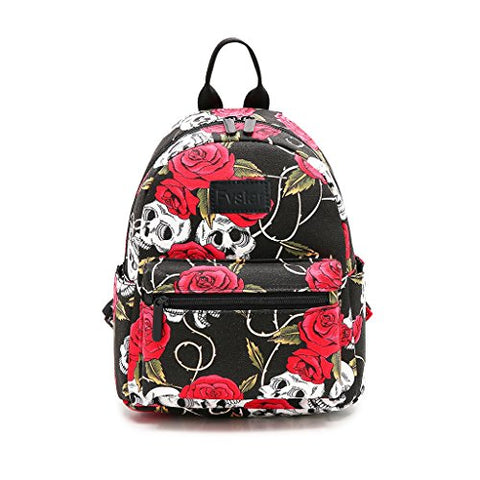 Fvstar Cute Teen Girls Canvas Backpack Mini School Bag Purse Daypack Pocketbooks For Kids And